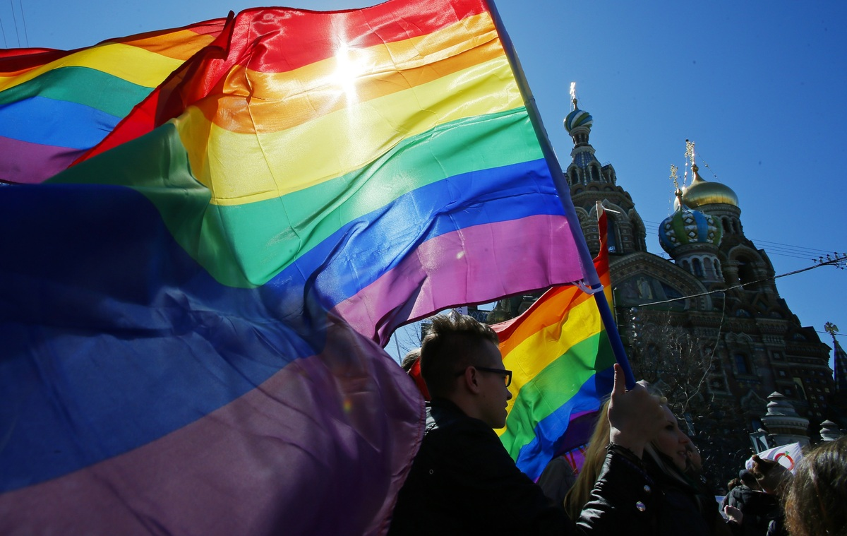 An outspoken LGBT activist in a country where being outspoken and LGBT is an equation for imprisonment, Alexey Davydov refuse