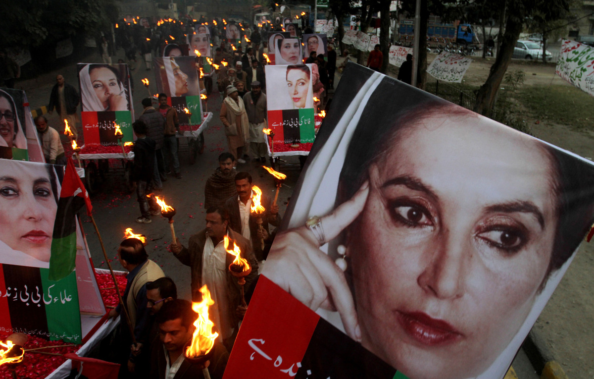 """""""Despite threats of death, I will not acquiesce to tyranny, but rather lead the fight against it."""" -Benazir Bhutto   While sh"""