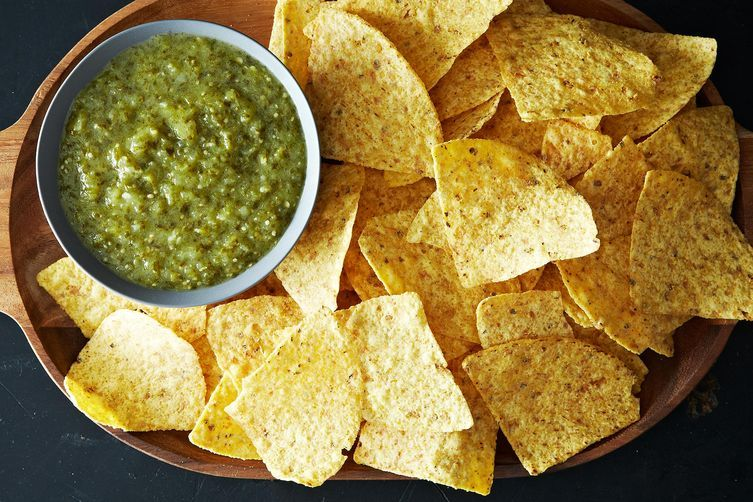 "<strong>Get the <a href=""http://food52.com/recipes/22530-cooked-green-salsa-salsa-verde"" target=""_blank"">Cooked Green Salsa r"