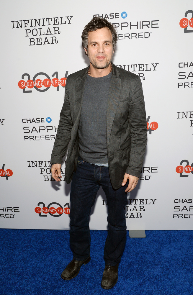 """IMAGE DISTRIBUTED FOR CHASE SAPPHIRE PREFFERED - Actor Mark Ruffalo attends the """"Infinitely Polar Bear"""" premiere party hosted"""
