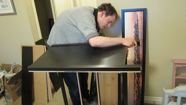 "Man With Autism Starts Business For Assembling IKEA Products (Courtesy <a href=""http://www.madebybrad.com/"">Mark Fremmerlid</"