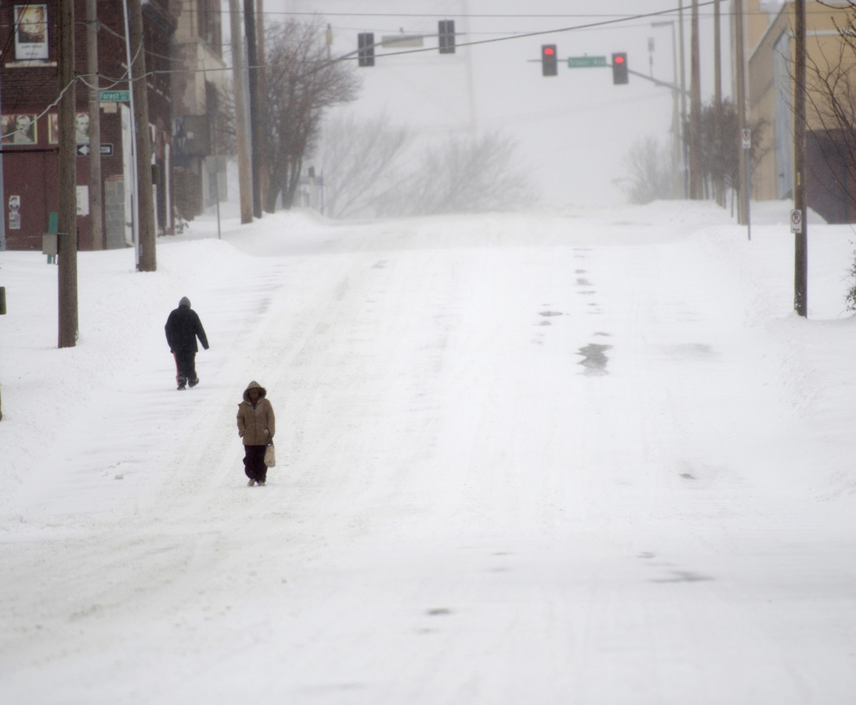 In February, states in the northeast United States saw massive snowfall and blizzard conditions. The largest snowfall from a