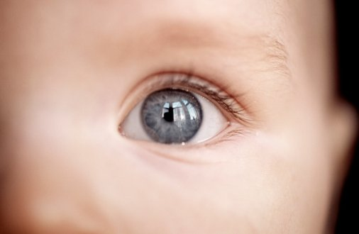 Numerous studies have found that the length of time an infant holds another person's gaze is an early sign of autism, because