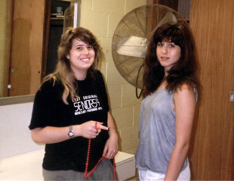 Back when Chaz Bono was Chastity Bono, he and Jennifer Aniston actually hung out together at New York City's High School of P