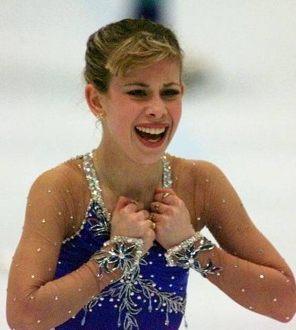 At just 15 years old (15, you guys!), Lipinski won the gold medal at the 1998 Olympics in Nagano, making her the youngest ind