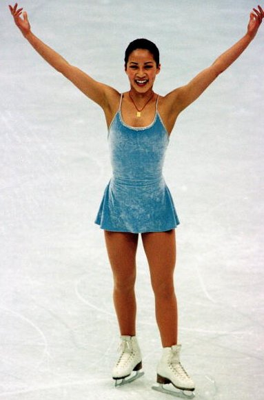 Kwan's a five-time World Champion who won the silver medal in 1998 (behind Lipinski), and bronze in 2002 (the year that fello