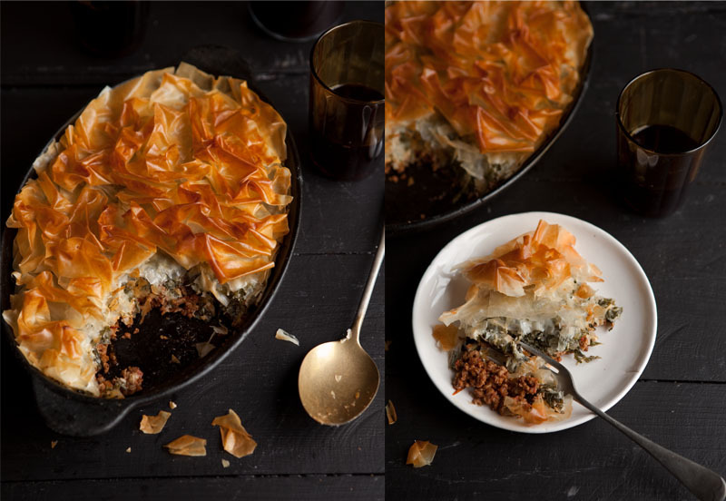 """<strong>Get the <a href=""""http://drizzleanddip.com/2013/03/11/beef-florentine-phyllo-pie"""" target=""""_blank"""">Beef Florentine Phyl"""