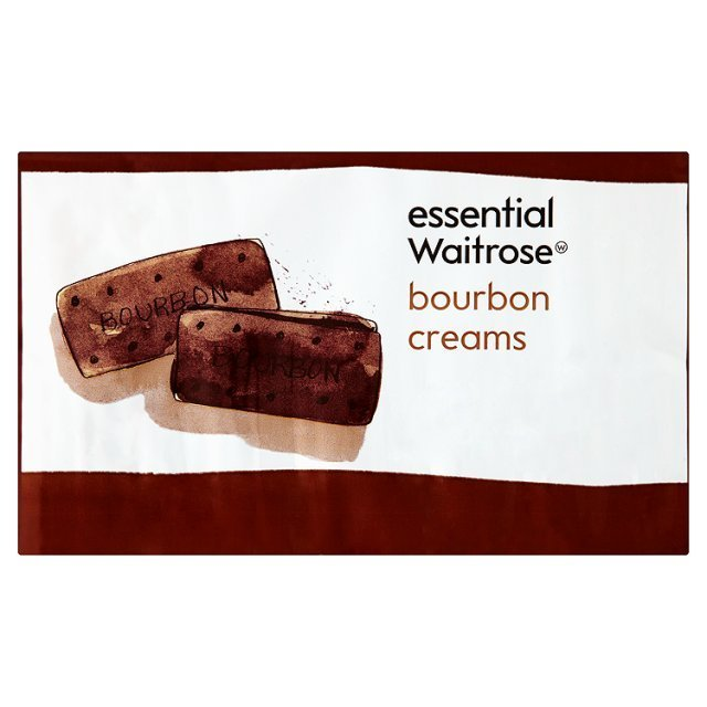 Also known as bourbon creams, these sandwich cookies consist of two chocolate biscuits with a thin layer of chocolate cream f