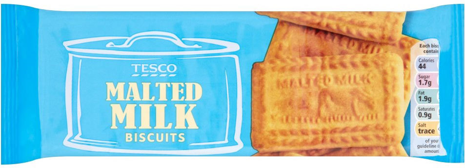 """Also known as """"cow biscuits,"""" these sweet, malt-flavored cookies have one or two cows depicted on them, depending on the bran"""