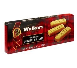 Buttery, crunchy and crumbly, these Scottish shortbread fingers aren't too sweet and are supremely comforting. Walker's was e
