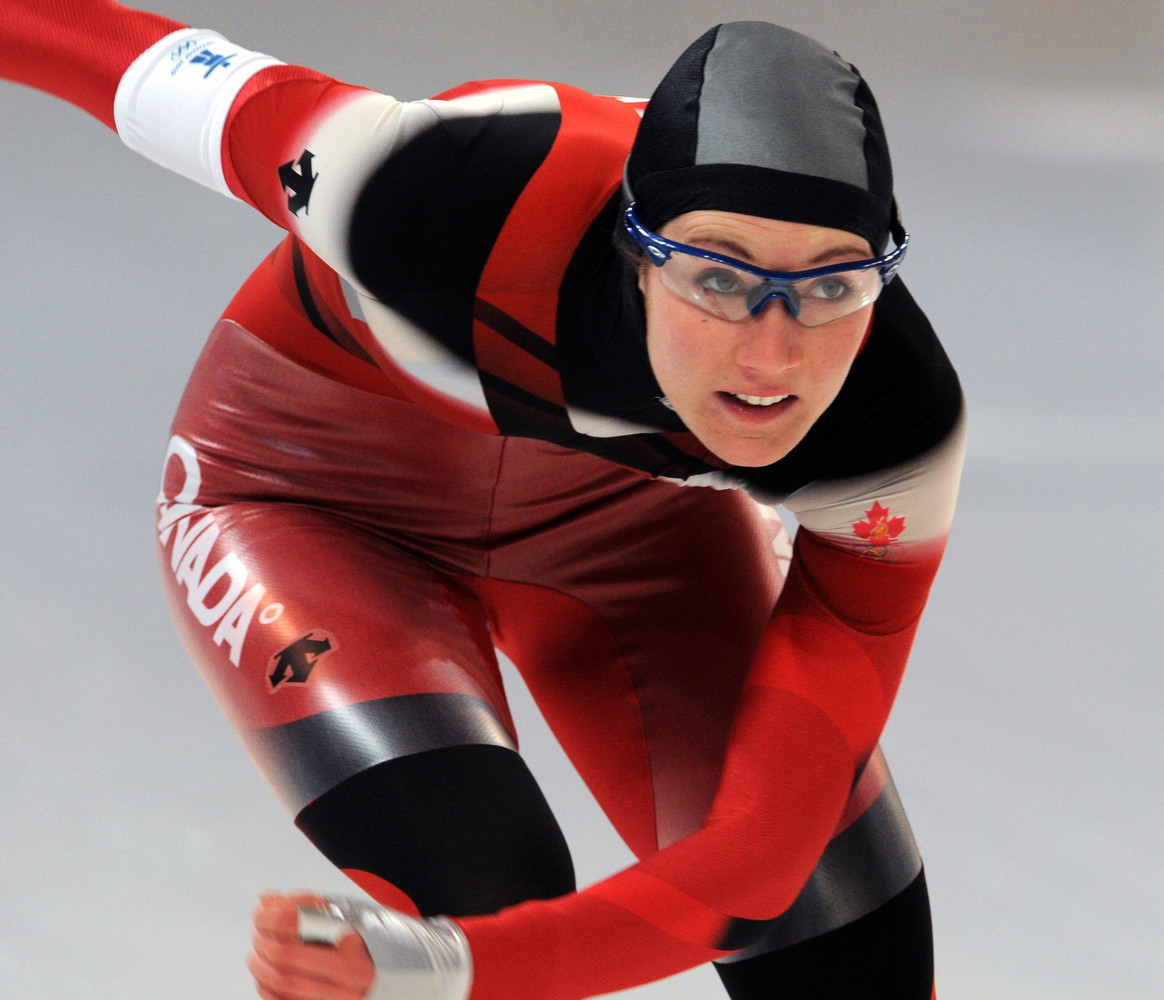 The Canadian long-track speedskater took a brave step in September when she publicly came out as a lesbian at Calgary's Pride
