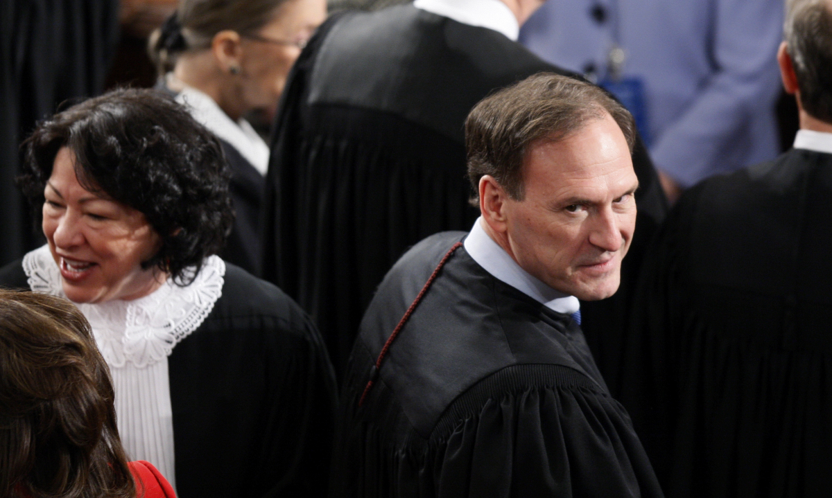 "During the 2010 State of the Union, Supreme Court Justice Samuel Alito mouthed the words <a href=""https://www.huffpost.com/en"