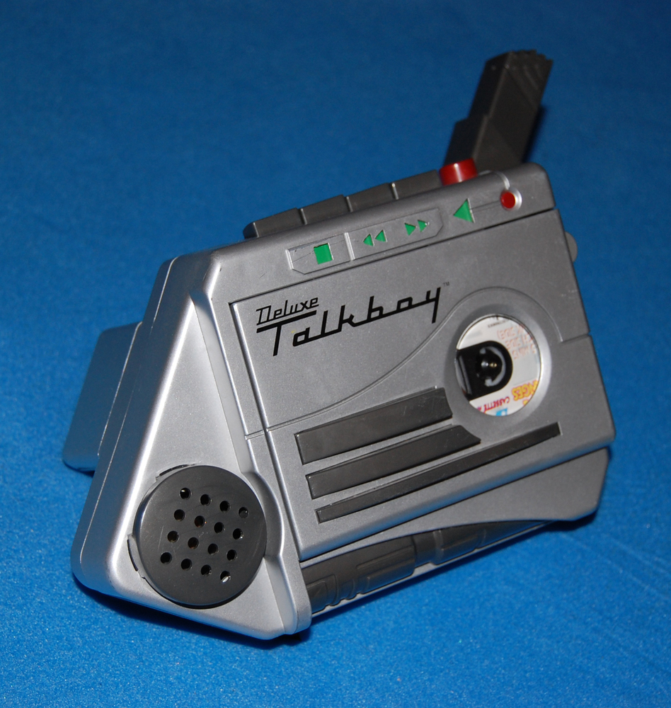 What was it? A cassette voice recorder and player made by Tiger electronics.  Who had one?  Kevin (Macaulay Culkin) in Home A