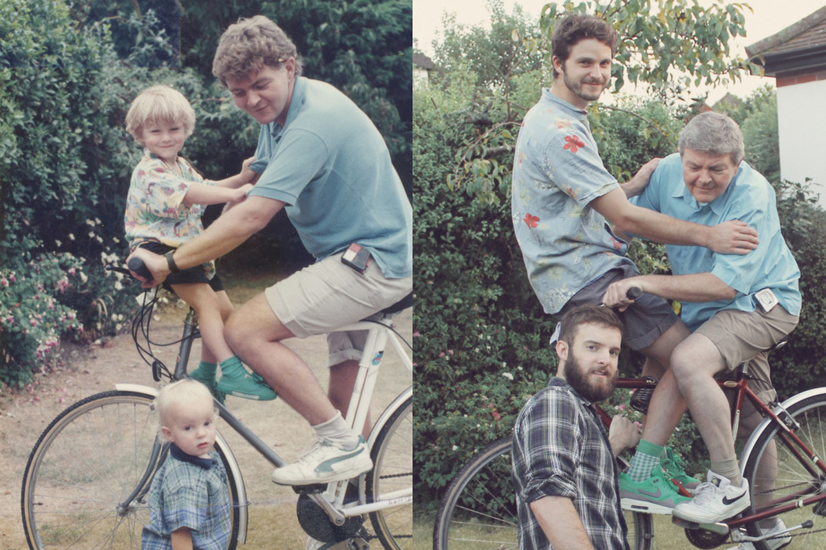The Luxton brothers are really good at recreating photos from their childhood, and we have a feeling there are a lot more <a