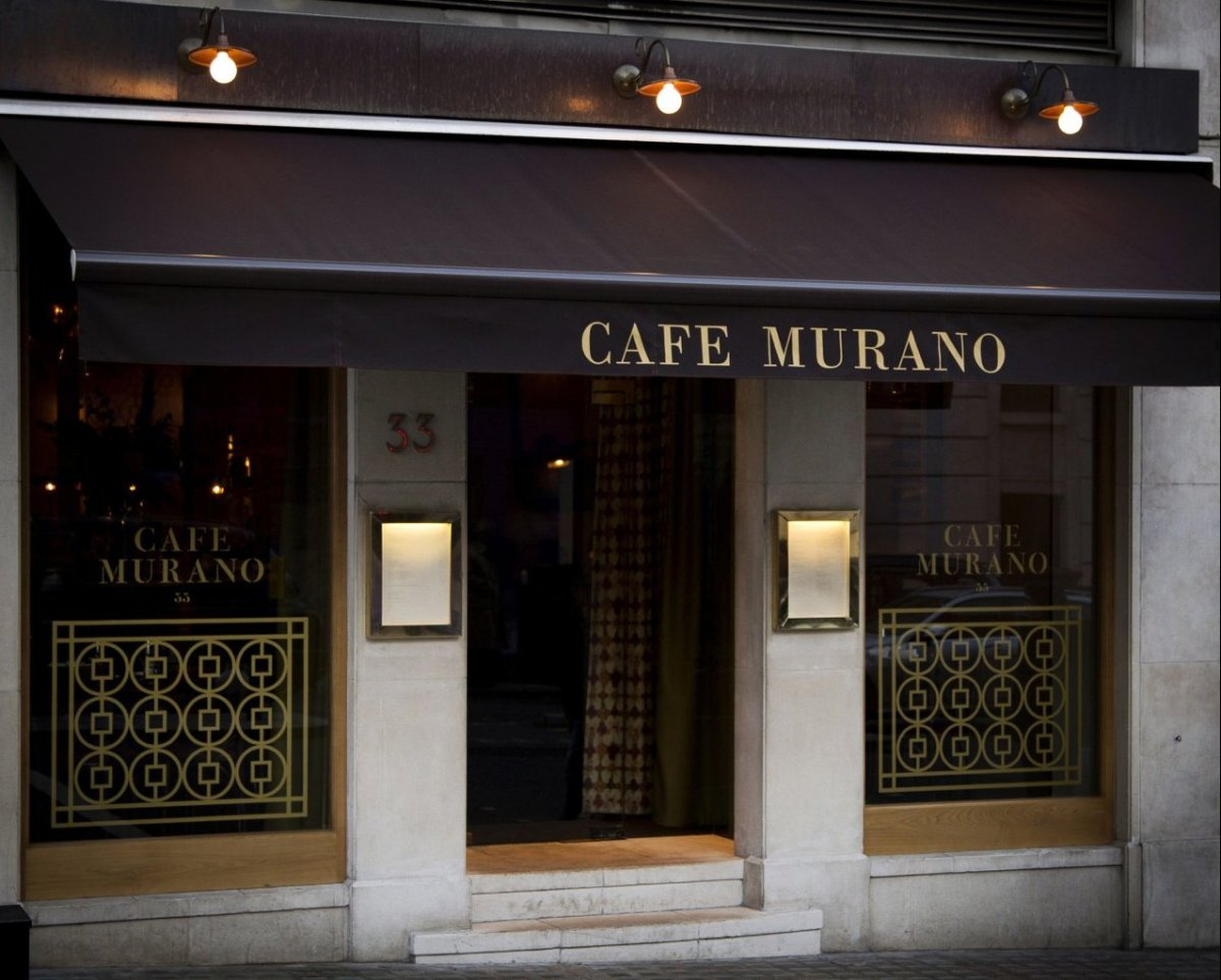 Photograph courtesy Gerber Public Relations for Cafe Murano.