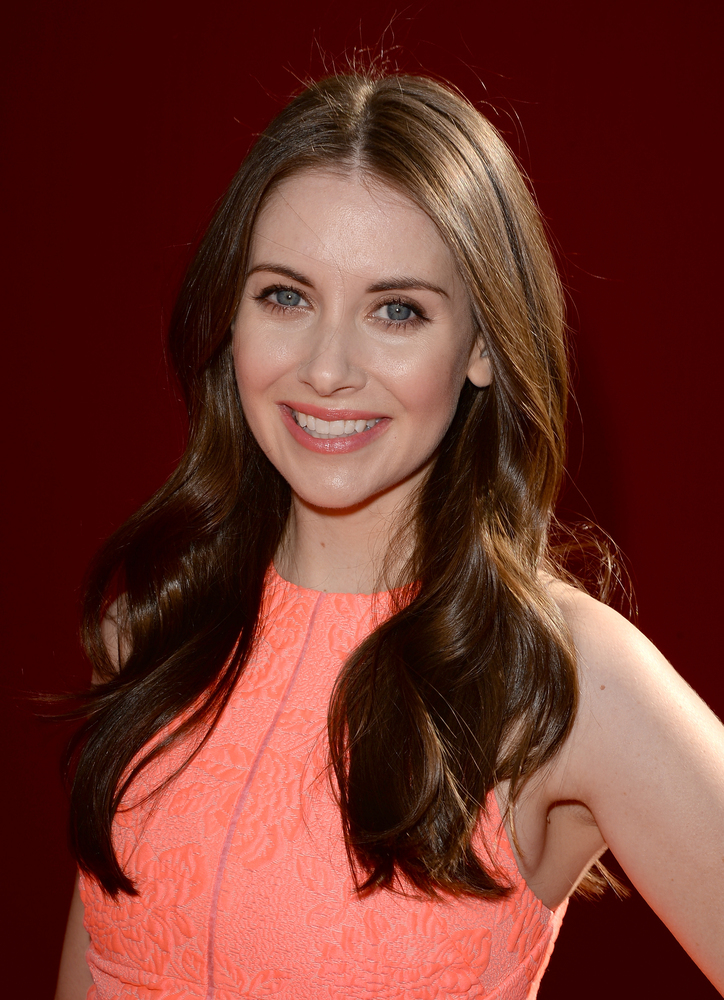 WESTWOOD, CA - FEBRUARY 01:  Actress Alison Brie attends the premiere of 'The LEGO Movie' at Regency Village Theatre on Febru