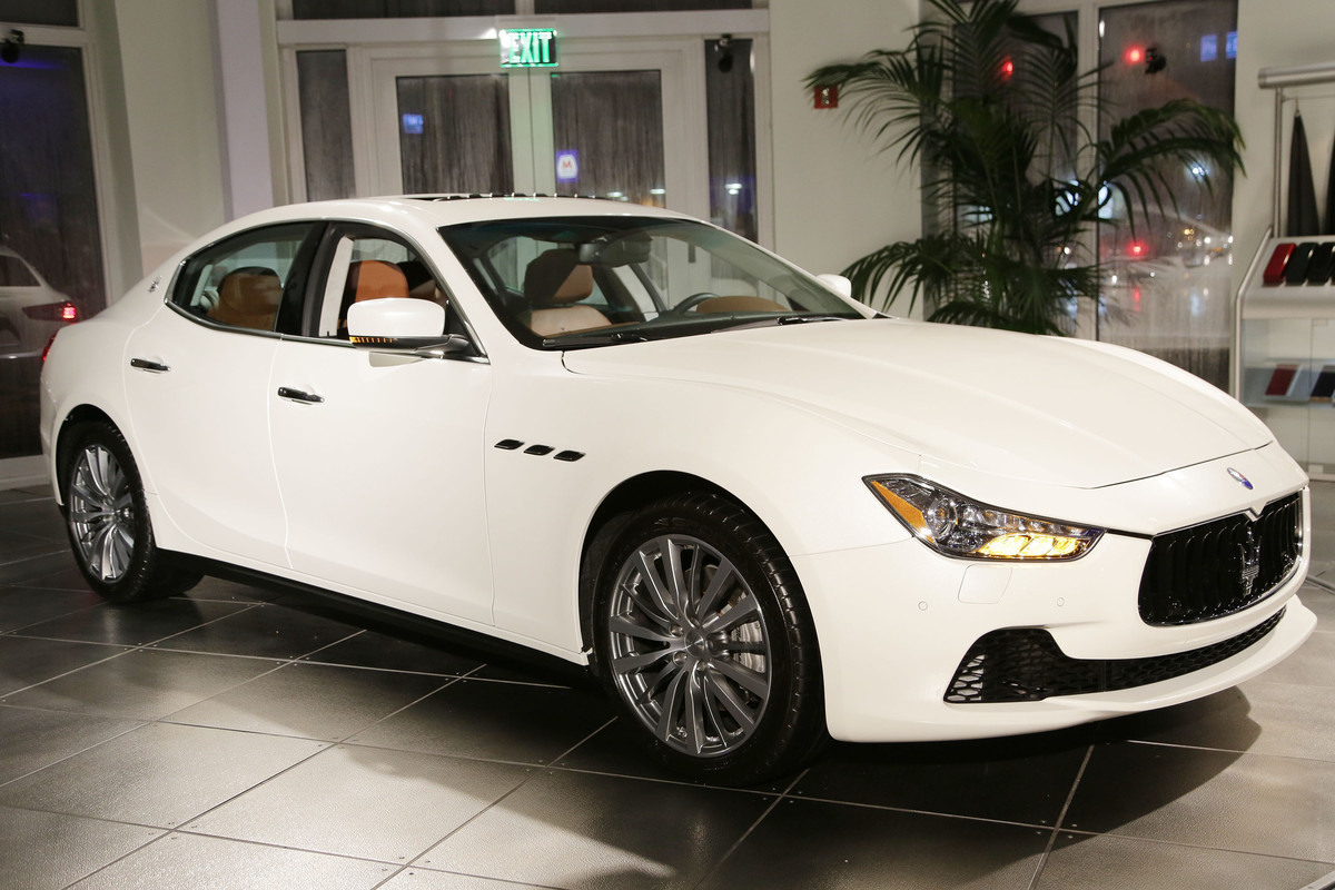 <br>The Ghibli is Maserati's smallest four-door model, measuring 11.5 inches smaller than the bigger, more expensive <a href=