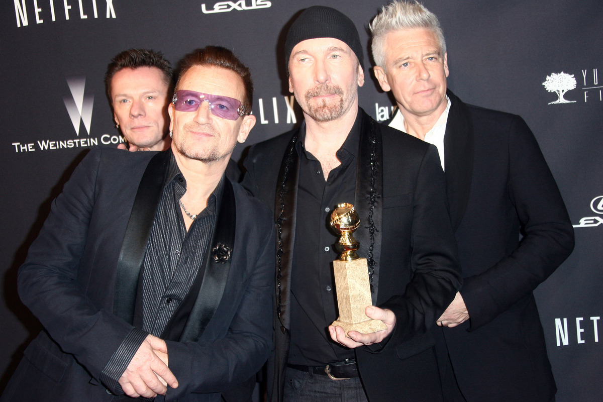 """<strong>Under their belt:</strong> 22 Grammys <br><br><strong>Dipped their toes:</strong> U2's """"Gangs of New York"""" contributi"""