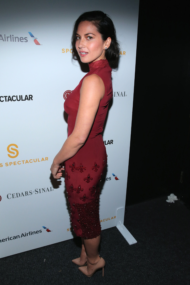 CENTURY CITY, CA - MAY 18:  Actress Olivia Munn backstage at the 2014 Sports Spectacular Gala at the Hyatt Regency Century Pl