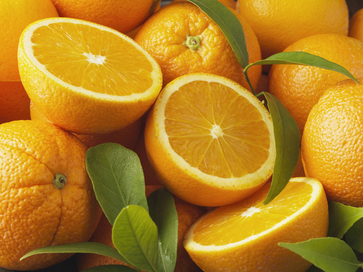 """Most people don't think of them at first, but oranges are great for your heart! The pectin helps neutralize a protein called"