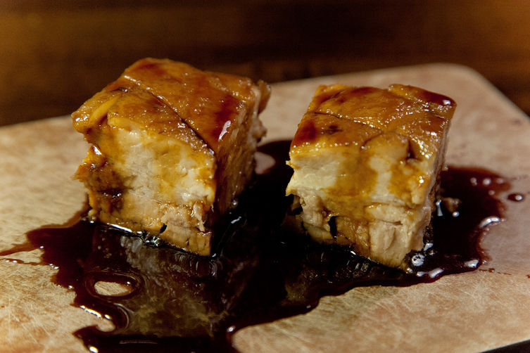 "<strong>Get the <a href=""http://food52.com/recipes/20138-guinness-lacquered-pork-belly"" target=""_blank"">Guinness Lacquered Po"