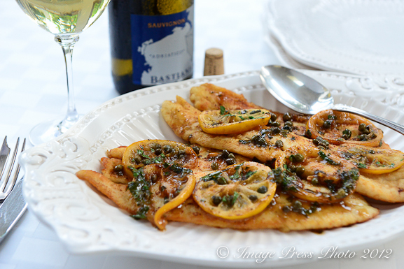 "<strong>Get the <a href=""http://www.bunkycooks.com/2012/08/sole-meuniere-filetto-di-sogliola-al-limone-from-lidias-favorite-r"