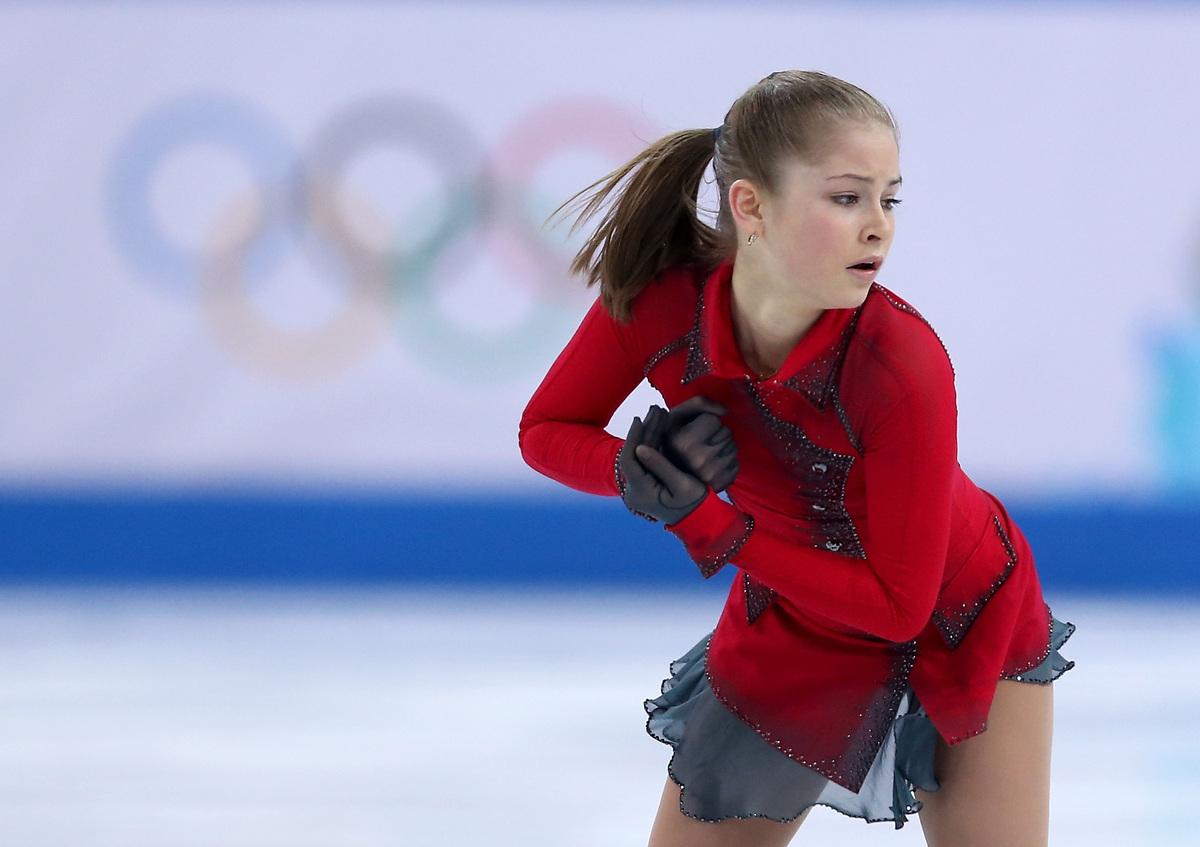 "Yulia Lipnitskaya of Russia not only impressed the world with <a href=""http://usatthebiglead.files.wordpress.com/2014/02/juli"