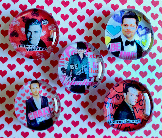Haven't found a valentine that's both beautiful and useful? Your answer has come in the form of a refrigerator magnet decorat