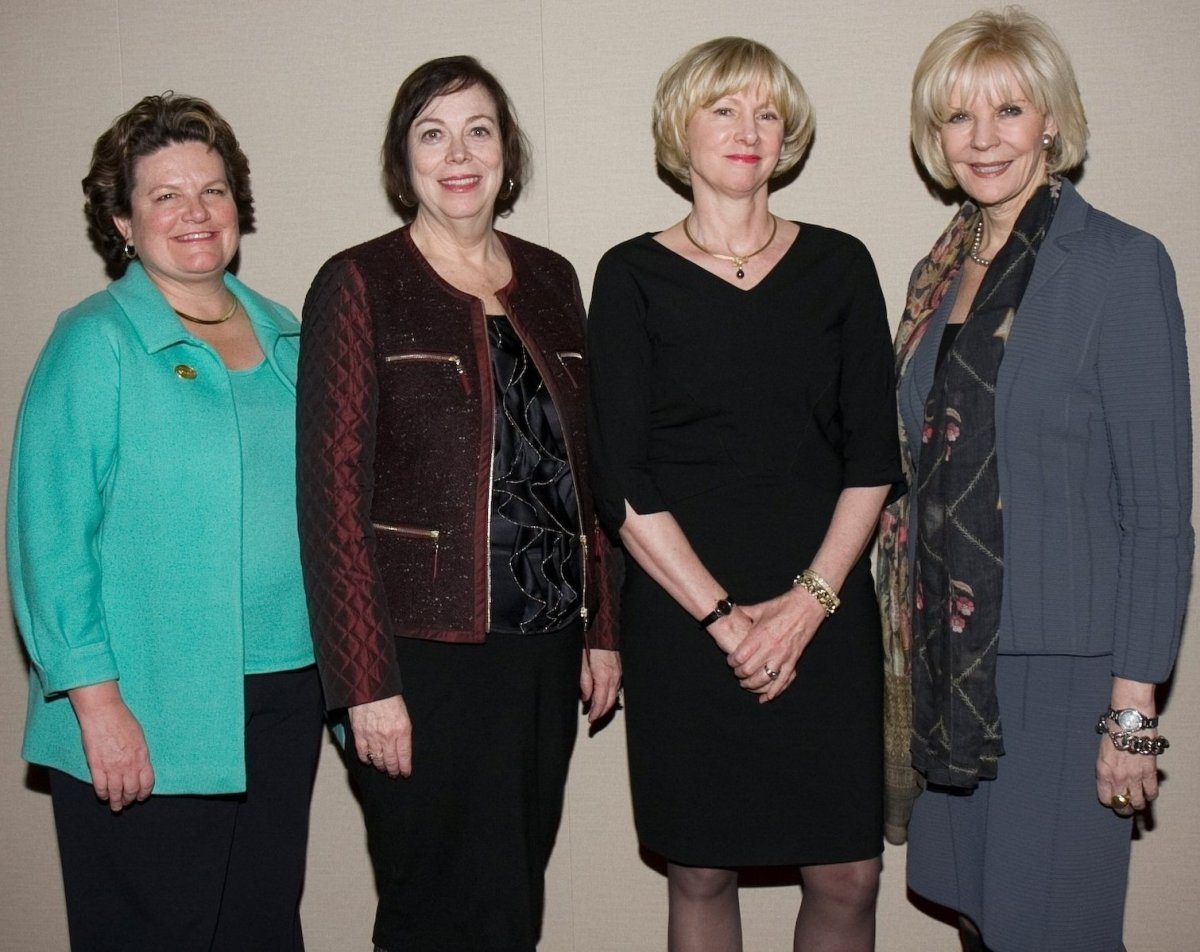 Golden Seeds Partners (left to right) Vanessa Wilson, Peggy Wallace, Jo Ann Corkran & Loretta McCarthy (Photo Credit: Cutty M
