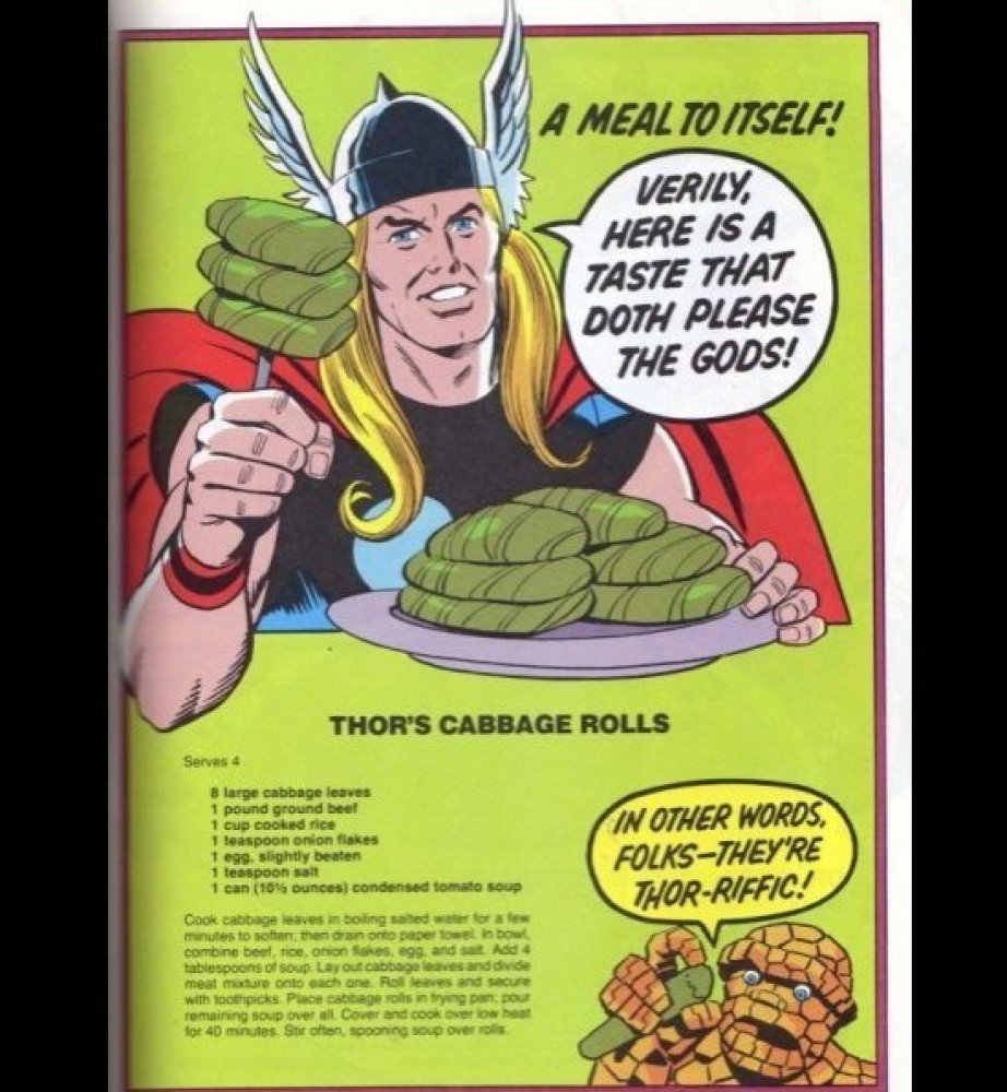 """Herein lies the secret to Thor's """"Warrior Madness."""" This recipe is the greatest of all the superpowered recipes that made it"""