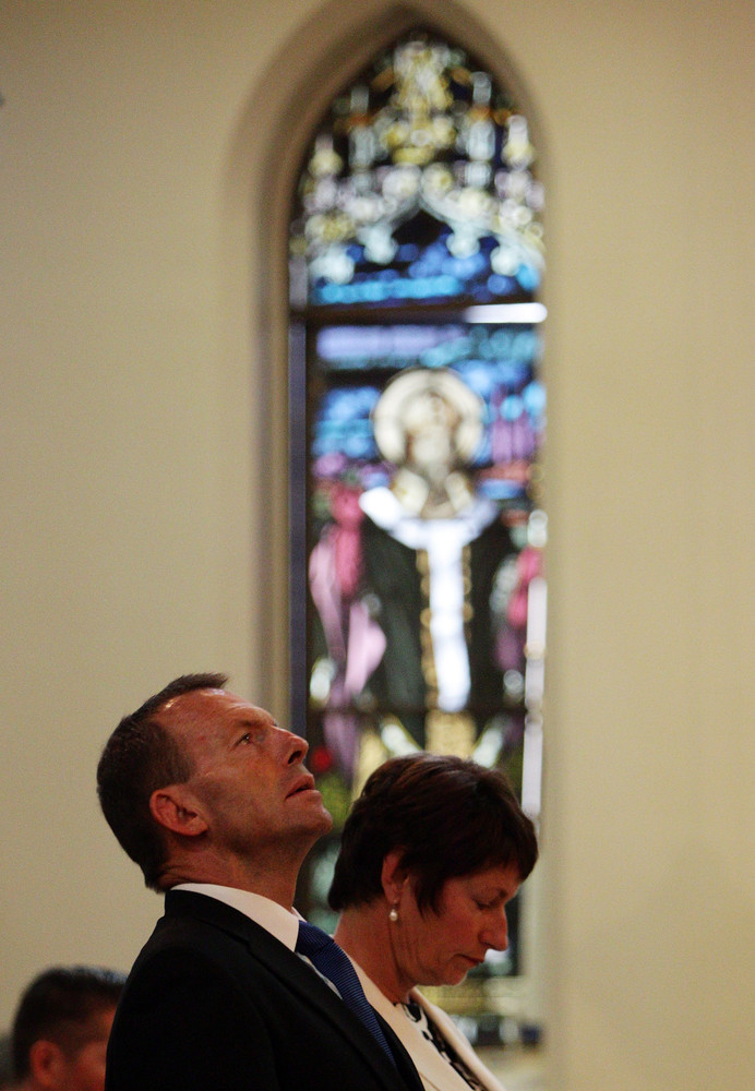 In his 20s, Tony Abbott trained to become a Catholic priest at Australia's leading St. Patrick's Seminary, but quit after three years. He is also a former boxer and the 56-year-old politician's aggressive style of politics and religious past earned him the nickname