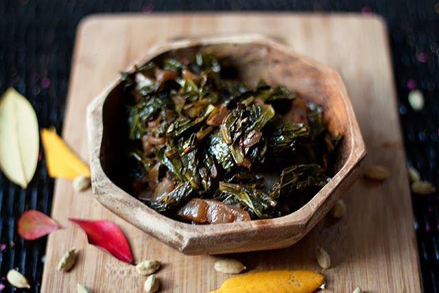 "<strong>Get the <a href=""http://food52.com/recipes/26226-gomen-wat-ethiopian-spiced-collards"" target=""_blank"">Gomen Wat: Ethi"