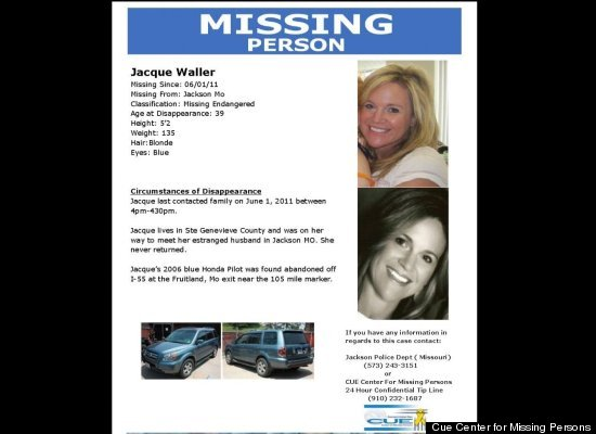 A missing person poster for Jacque Sue Waller.