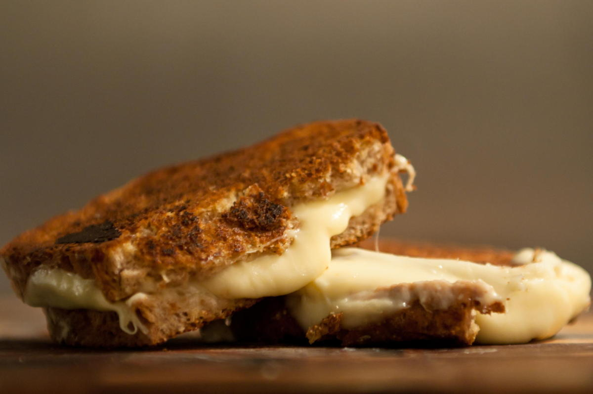 The Muenster cheese grilled cheese is the best grilled cheese. That is all.