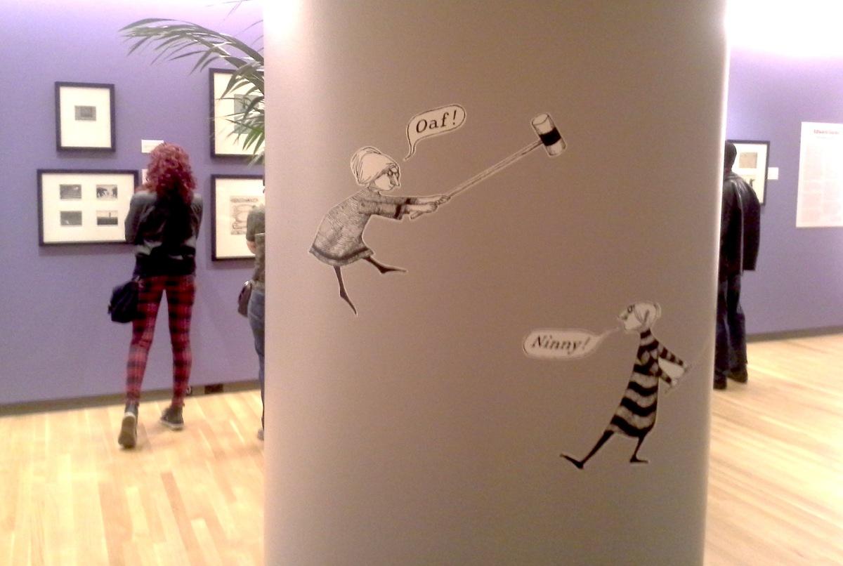 The Edward Gorey exhibition at the Loyola University Museum of Art opened on Feb. 15.