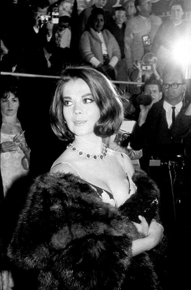 Natalie Wood at the 38th annual Academy Awards in 1966.