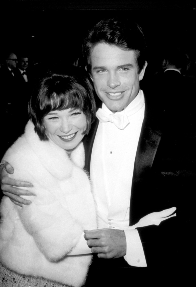 Shirley MacLaine and Warren Beatty the 38th annual Academy Awards in 1966.