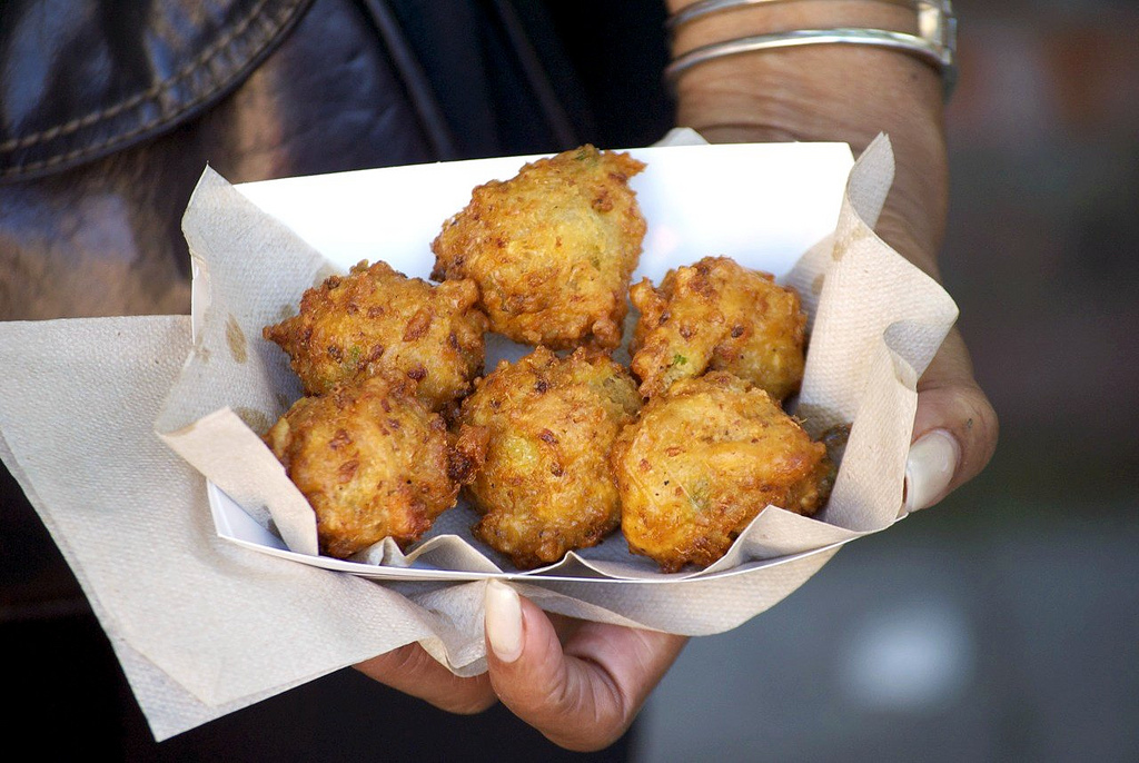 Conch fritters are hands-down the greatest thing to come out of a deep fryer. While we will always think of the Bahamas as th