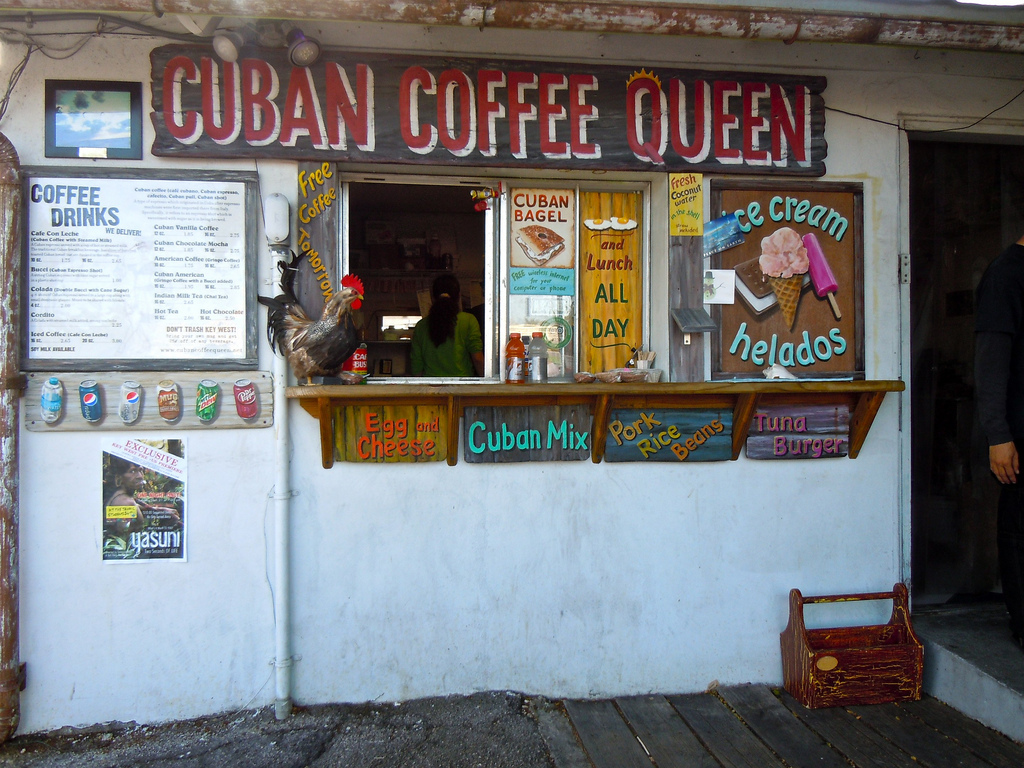Cuban coffee is clearly not an original part of the Key West culinary scene, but it is a staple now. And a damn fine one too.