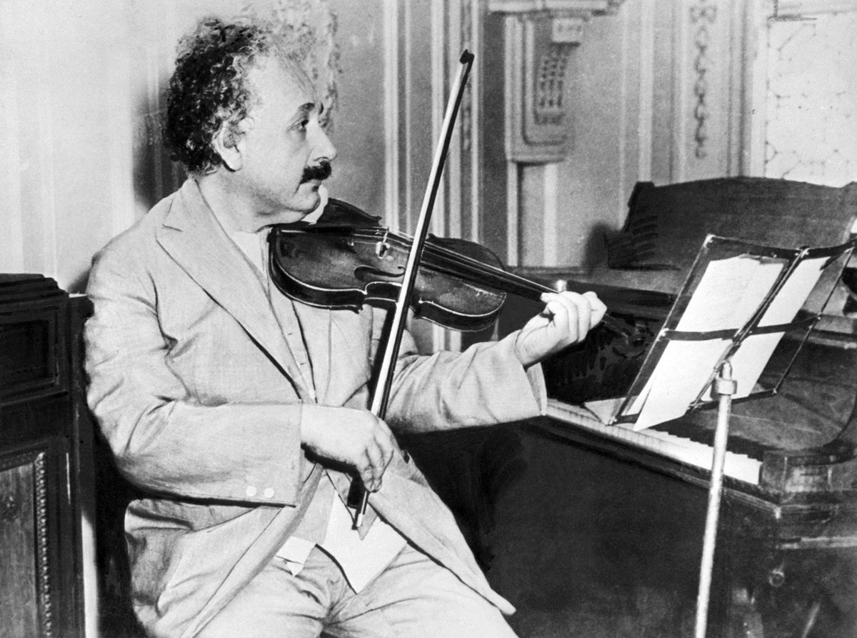 Albert Einstein (1879-1955) in 1931.
