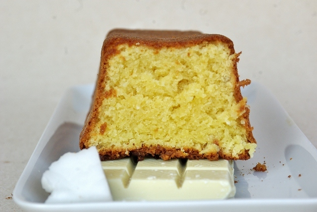 Get the White Chocolate and Fresh Grated Coconut Cake recipe by frogincottage via Food52