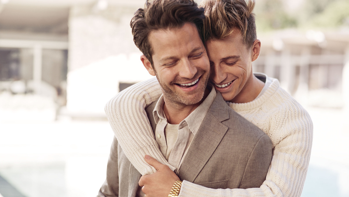 "Nate Berkus And Fiance Jeremiah Brent Star In Banana Republic Campaign (<a href=""http://www.bananarepublic.com/browse/home.do"