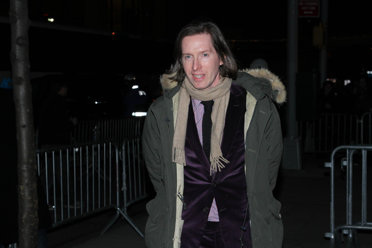 NEW YORK, NY - FEBRUARY 26:  Director Wes Anderson arrives for 'The Grand Budapest Hotel' New York Premiere at Alice Tully Ha