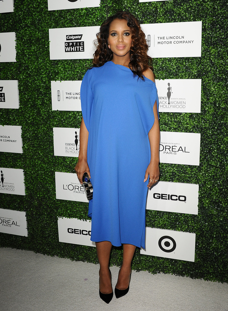 BEVERLY HILLS, CA - FEBRUARY 27: Actress Kerry Washington attends the 7th annual ESSENCE Black Women In Hollywood luncheon at