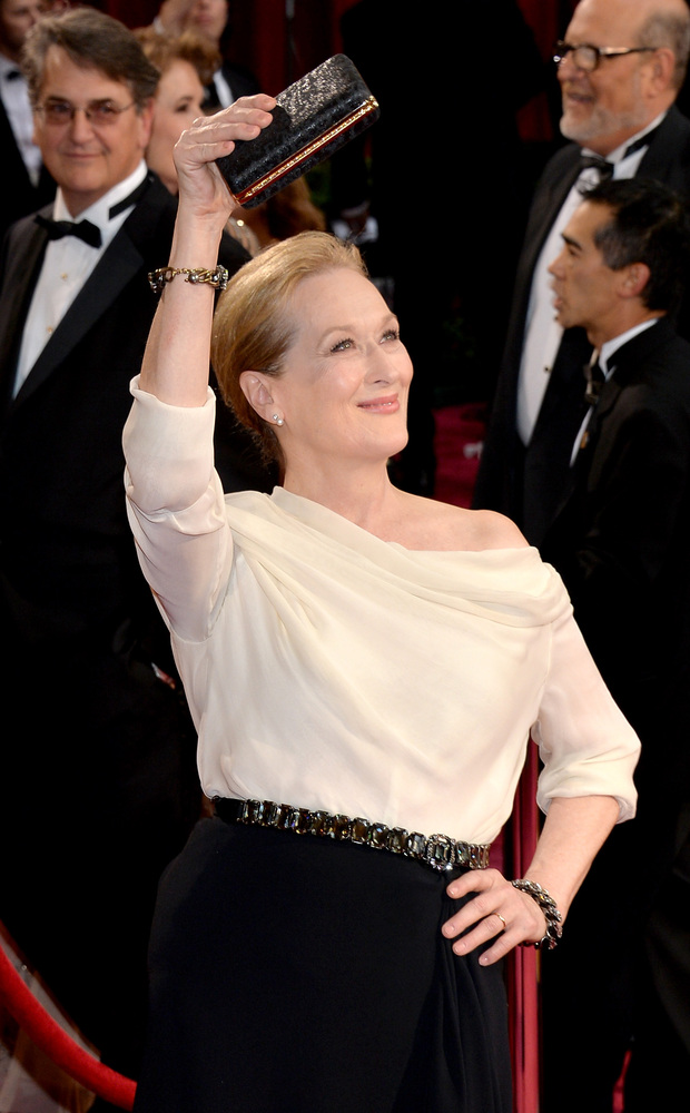 Because with 18 nominations, Meryl Streep is more important to the Oscars than the Oscar.