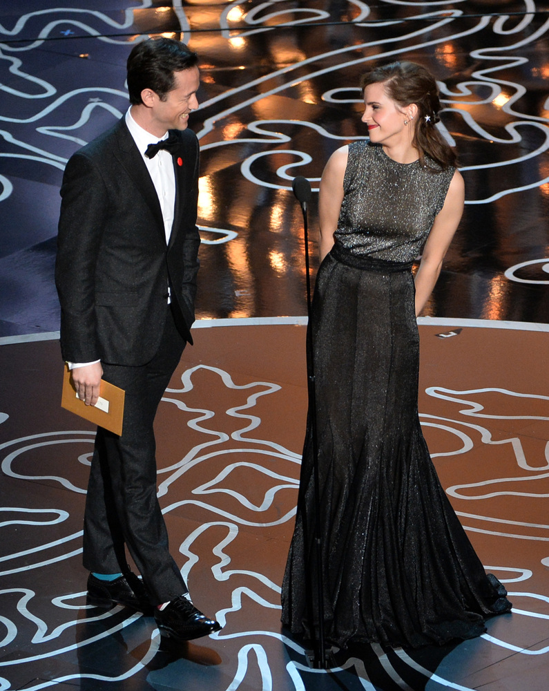 Because this was the most adorable part of Sunday night's Oscars ceremony.