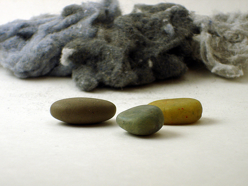 You can use lint to make these two popular crafting media, and before you wrinkle your nose at the thought, let me tell you t