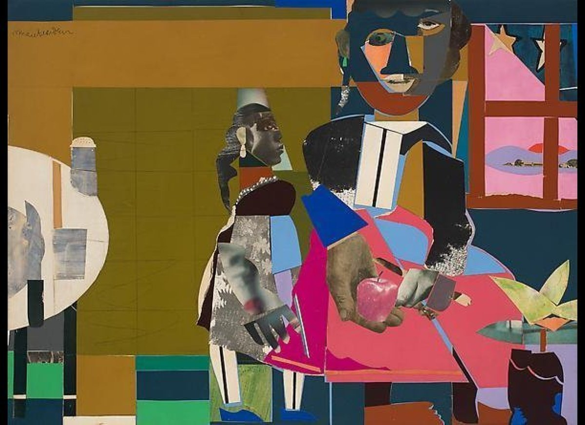 """Romare Bearden. Courtesy of <a href=""""http://www.dcmooregallery.com"""" target=""""_hplink"""">DC Moore Gallery</a>, New York City."""