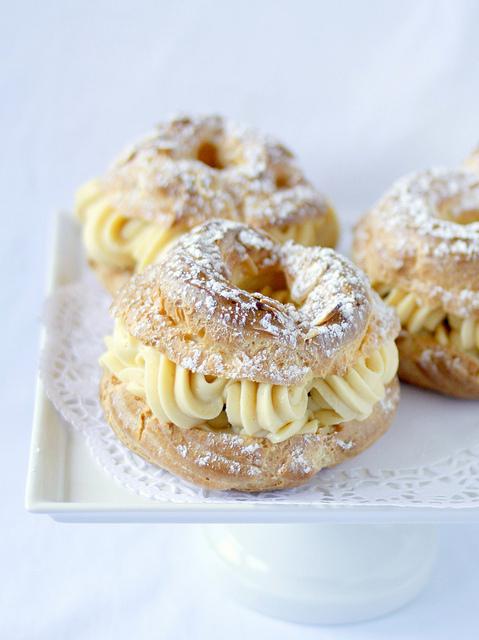 "<strong>Get the <a href=""http://www.treats-sf.com/2011/11/paris-brest.html"">Paris-Brest recipe</a> from Treats</strong>"