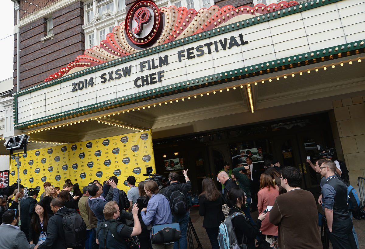 AUSTIN, TX - MARCH 07:  A general view of atmosphere at the premiere of 'Chef' during the 2014 SXSW Music, Film + Interactive